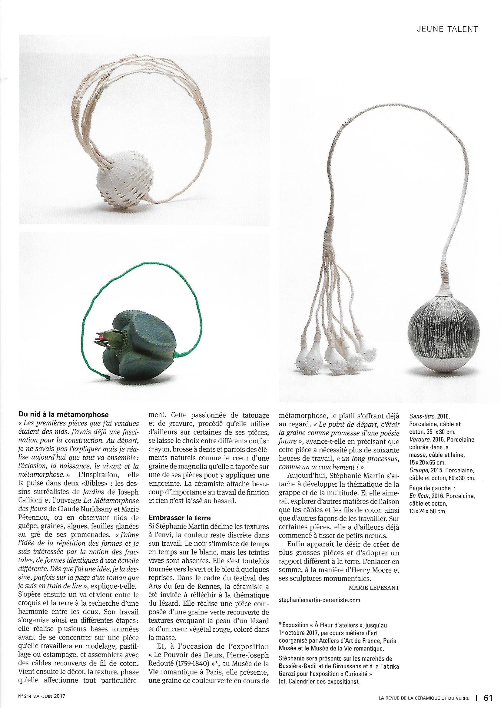 Article Revue de la Céramique et du verre_0002